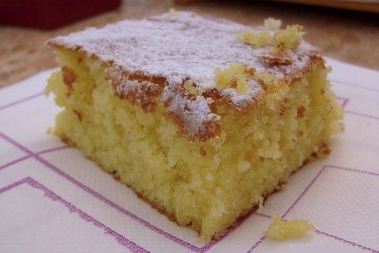 Receta de torta blanca de naranja