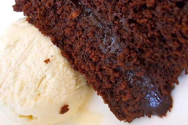 Receta de torta de chocolate húmeda