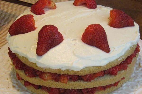 Torta de crema - Receta