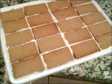 Receta de torta de galleta