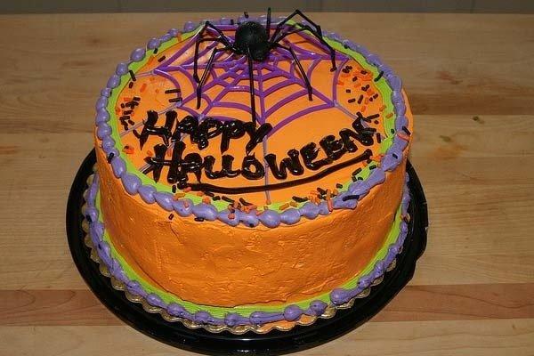 Receta de torta de halloween