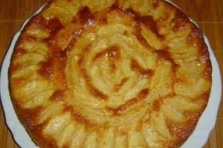 Receta de torta de manzana