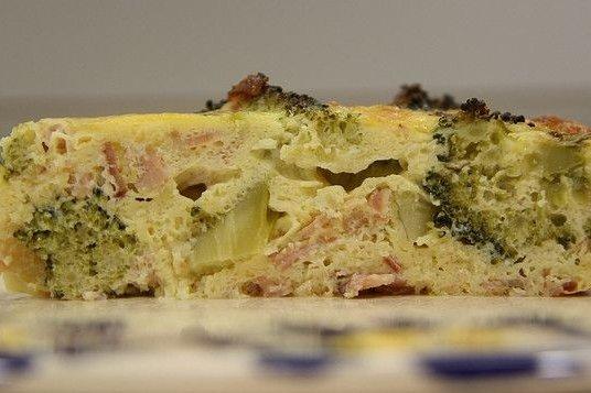 Receta de tortilla de brócoli