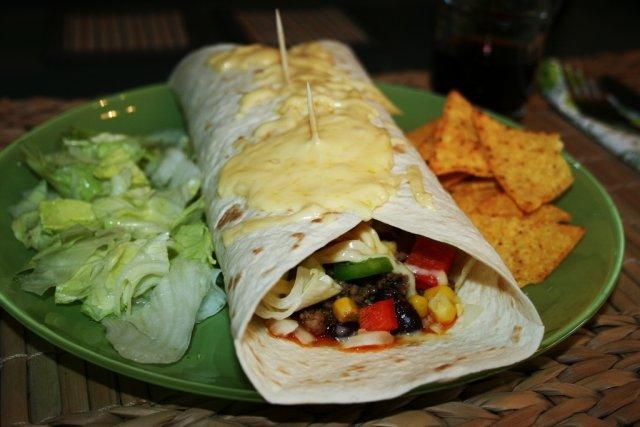 Receta de tortillas mexicanas rellenas