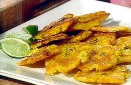 Receta de tostones (patacones)