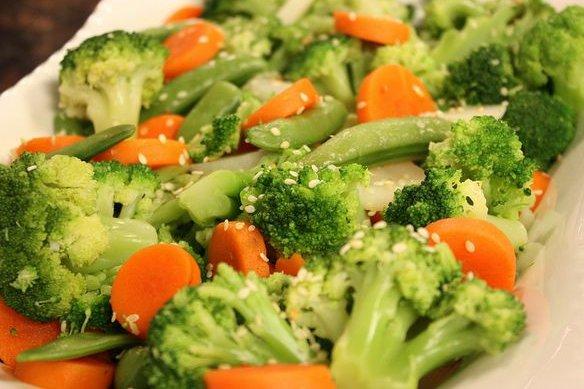 Resultado de imagen para verduras cocidas