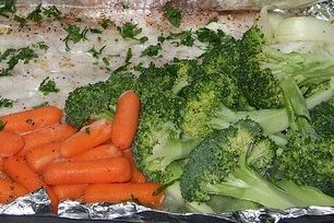Receta de verduras en papillote