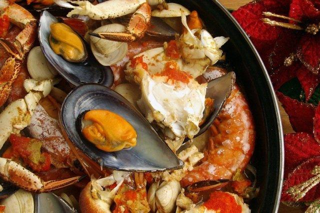 Zarzuela de marisco dukan receta for Cocinar zarzuela