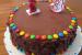 Receta de tarta de nutella
